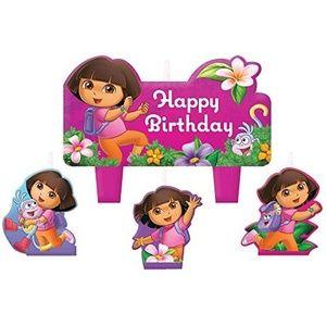 Dora The Explorer 'Flower Adventure' Mini Candles